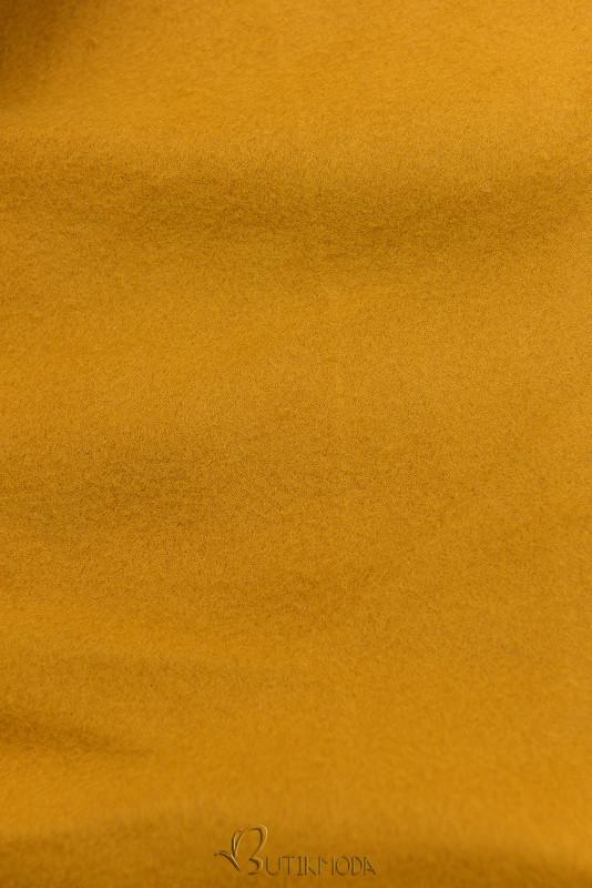 Verlängerte Kapuzenjacke von LHD mustard